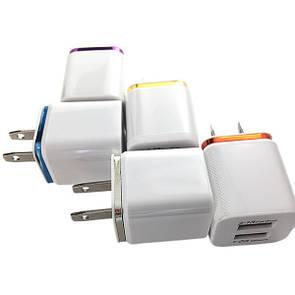 Зарядное устройство DK-Case Nokoko 1/2.1A (violet)