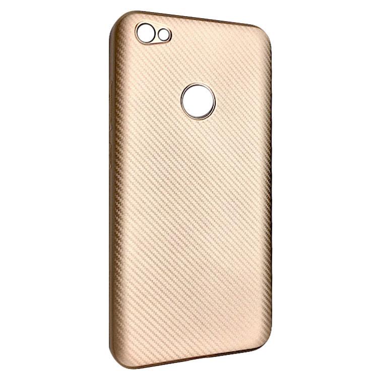 Чехол Carbon Xiaomi Redmi Note 5A Prime (rose gold)