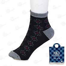 Носки мужские короткие узорные с бамбуковым волокном Nassdack 1005-6 | 12 шт.