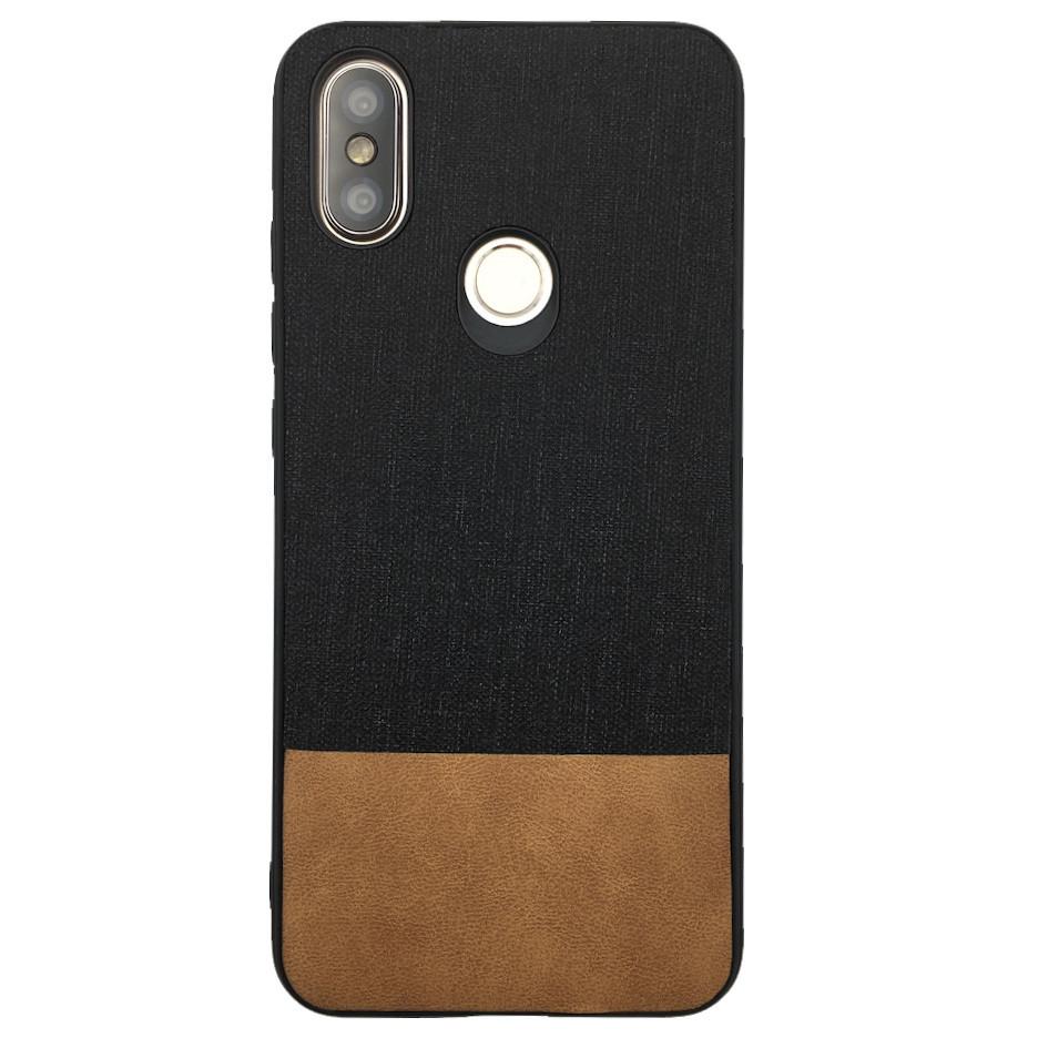Чехол Fabric Leather Gentleman Xiaomi Mi A2 (Mi 6X) (black)