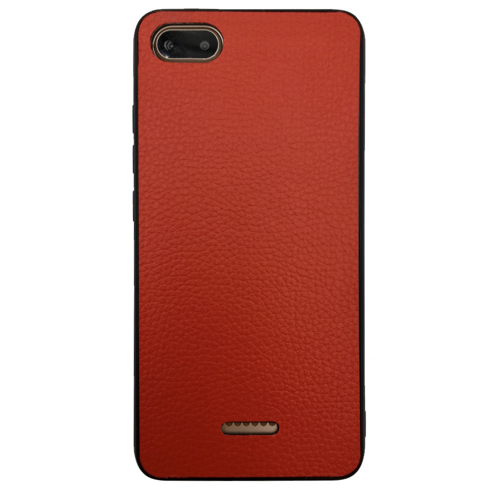 Чехол Leather Case Business Xiaomi Redmi 6A (red)