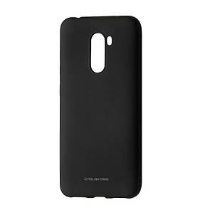 Чехол-накладка силикон Hana Molan Cano для Xiaomi Pocophone F1 (black)