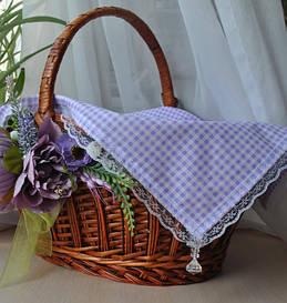 Кружевные салфетки, полотенечки для Пасхальной корзины
