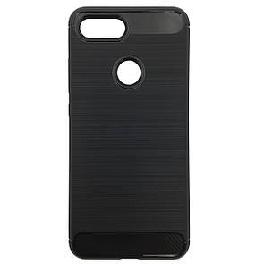 Чехол Carbon Steel Xiaomi Mi 8 Lite (black)