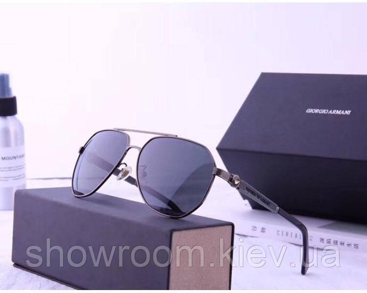 Мужские солнцезащитные очки в стиле Armani (19977)
