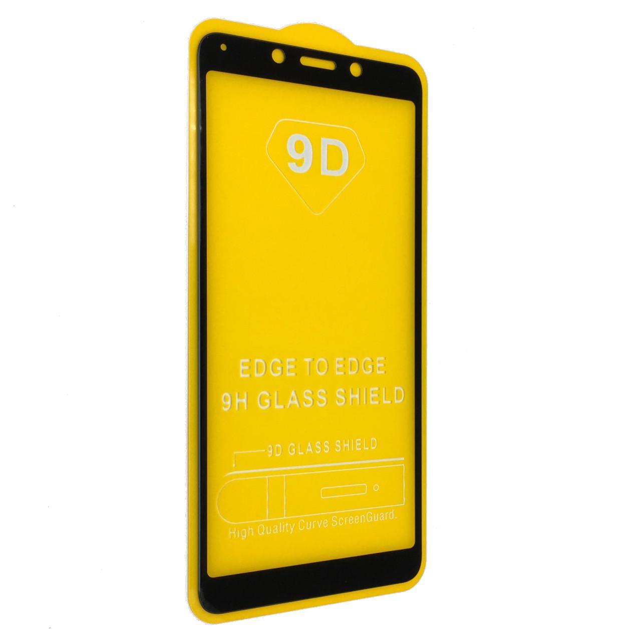 Защитное стекло 9D купол Xiaomi Redmi 6/6A (black)