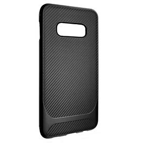 Чехол-накладка DK-Case Silicone SGP Carbon для Samsung S10e (black)
