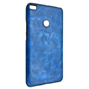 Чехол кожа Sitched Xiaomi Mi Max 2 (blue)