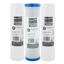 Комплект картриджей для фильтра Platinum Wasser Ultra