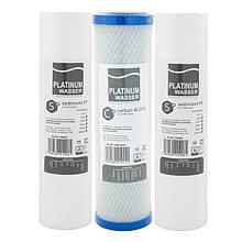Комплект картриджів для фільтра Platinum Wasser Ultra