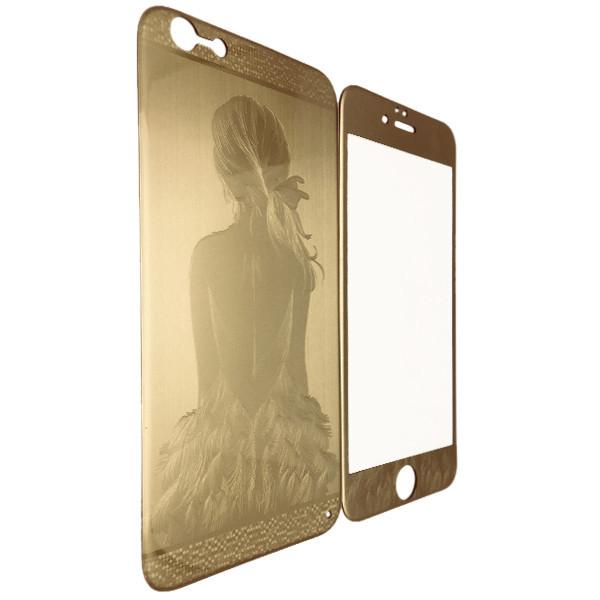 Защитное стекло  Балерина for Apple iPhone 6/6S gold