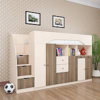 Двухэтажная кровать-чердак КЧО 145