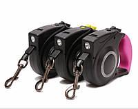Поводок-рулетка с фонариком