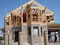 Строительство дачного дома с деревянным каркасом
