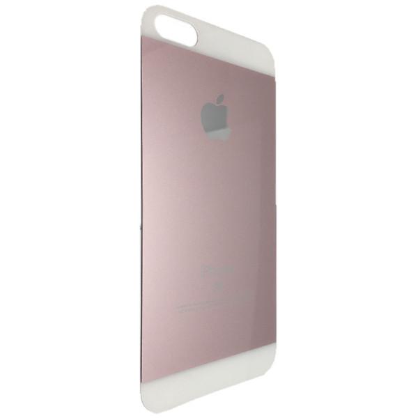 Захисне скло Apple iPhone 5/5S глянець back (rose gold)