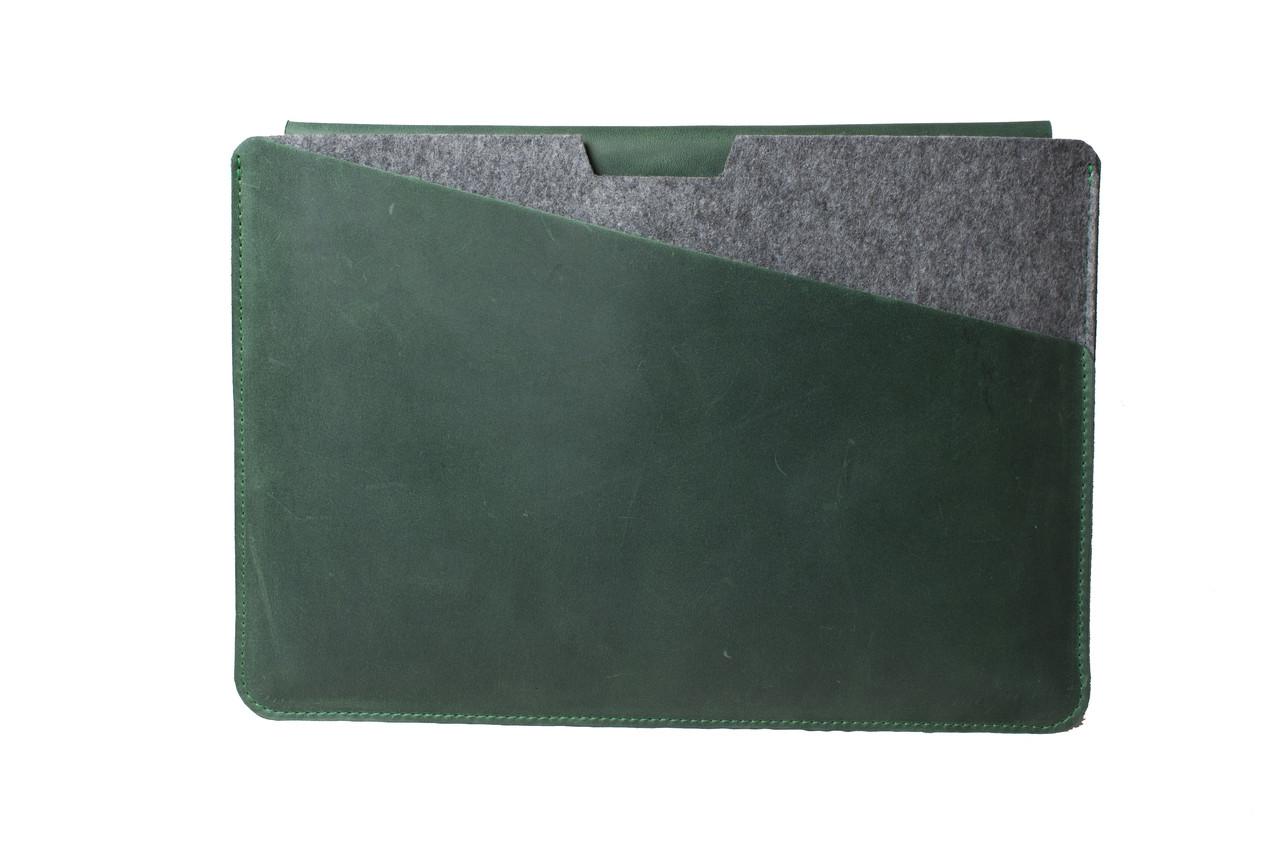 Класический чехол для MacBook из натуральной кожи