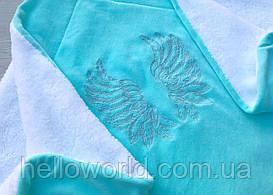 Одеяло-плед, крыжма с вышивкой