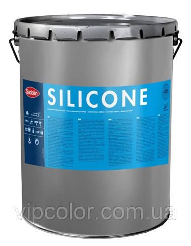 Sadolin Silicone 15 л W05 белая Силиконовая фасадная краска