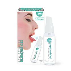 Стимулирующий оральный гель для минета охлаждающий Oral Optimizer ментол