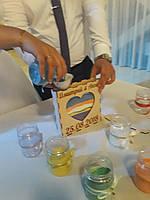 Посудина для пісочної церемонії на весілля. Весільний обряд., фото 1