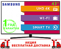 "Телевизор Samsung 43"" 4K Smart TV UE43NU7400 , фото 1"