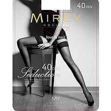 Красивые шелковистые чулки Mirey 40 Den Sed40