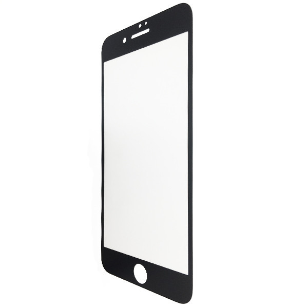 Защитное стекло  весь экран matt 2D for Apple iPhone 7 Plus front (black)