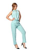 Летний комбинезон с брюками мятный женский, фото 1