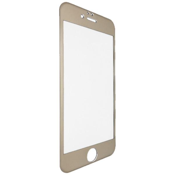 Защитное стекло  Titanium for Apple iPhone 6/6S face gold