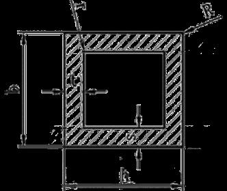Труба квадратная алюминий 40х40х1,5 анод, фото 2