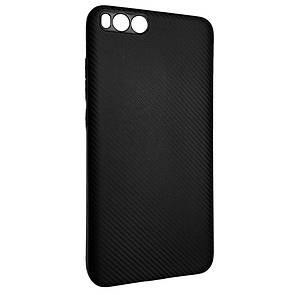 Чехол-накладка DK-Case силикон Carbon для Xiaomi Mi Note 3 (black)