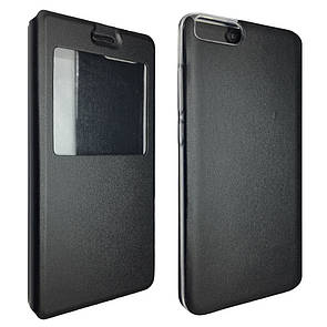 Чехол-книжка DK-Case на силиконе для Xiaomi Mi Note 3 (black)