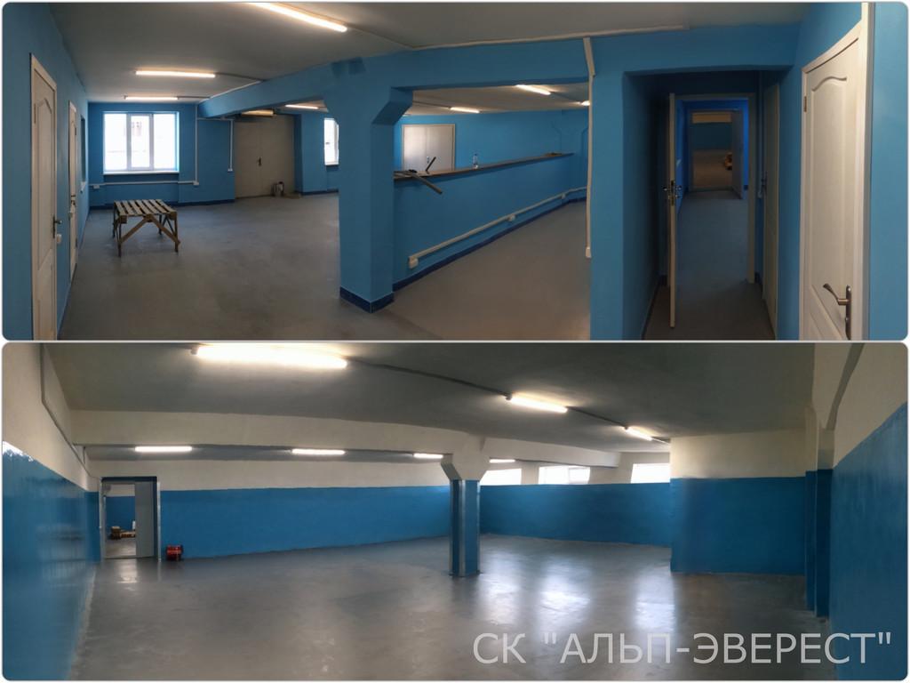 Капитальный ремонт помещения склада для компании«Gunsel» (2018 год)