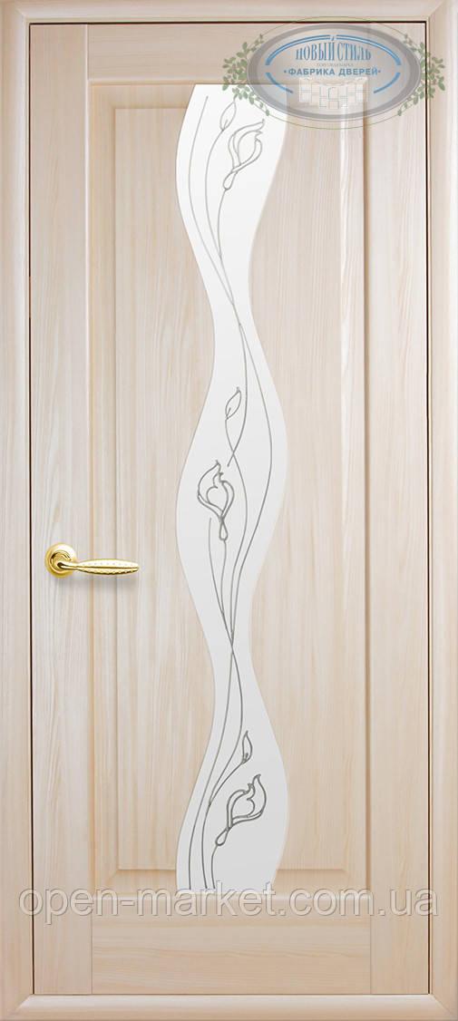 Модель Волна стекло Р2 межкомнатные двери, Николаев