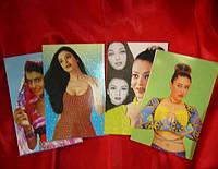 Открытки индийских артистов в ассортименте