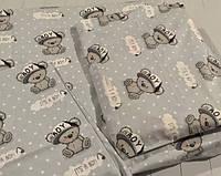Сменное детское  постельное белье в кроватку, набор постельного белья в кроватку