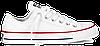 Кеды Converse All Star White Low низкие белые (Конверсы) женские и мужские размеры: 35-44 - Фото