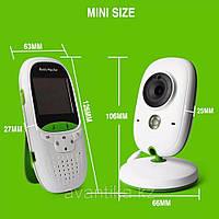 Видеоняня Радионяня Baby Monitor VB 602 с термометром, фото 2