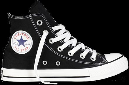 Converse All Star Женские кеды черно-белые