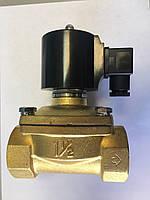 Клапан электромагнитный нормально закрытый 1 1/2 40