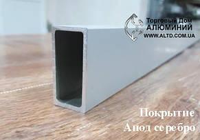 Труба прямоугольная алюминий 20х25х1,5 анод, фото 2