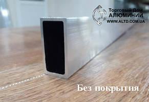 Труба прямоугольная алюминий 40х20х1,2 анод, фото 2