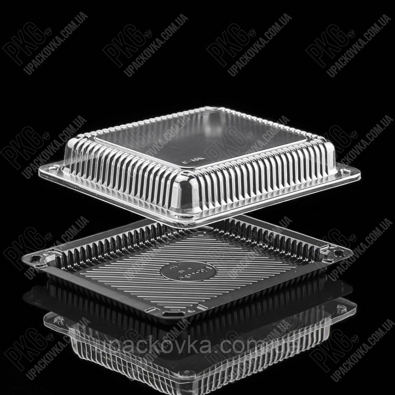 Пластиковая упаковка для суши и роллов С-18, 600 шт/уп