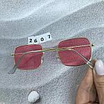 Красные очки в золотой оправе, фото 4