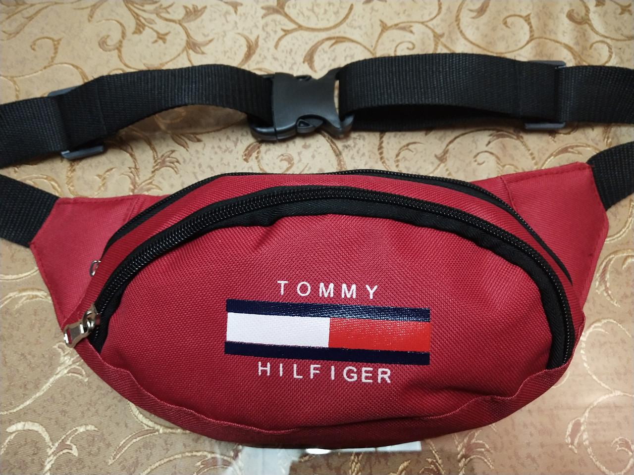 Сумка на пояс TOMMY HILFIGER новый/Спортивные барсетки сумка женский и мужские пояс Бананка только оптом