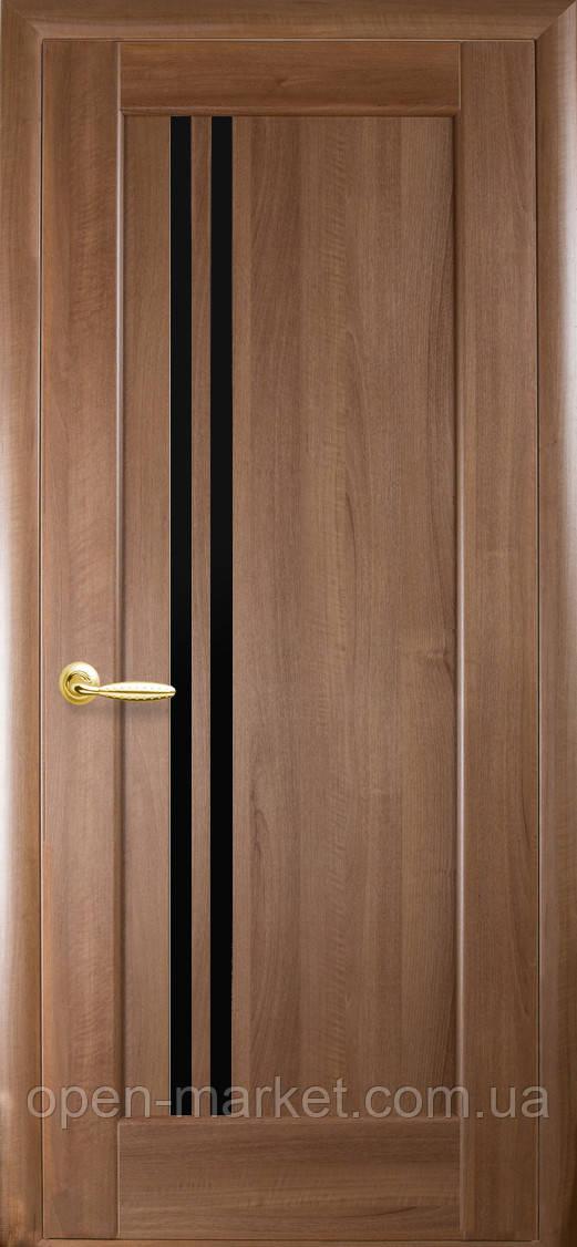 Модель Делла BLK стекло межкомнатные двери, Николаев