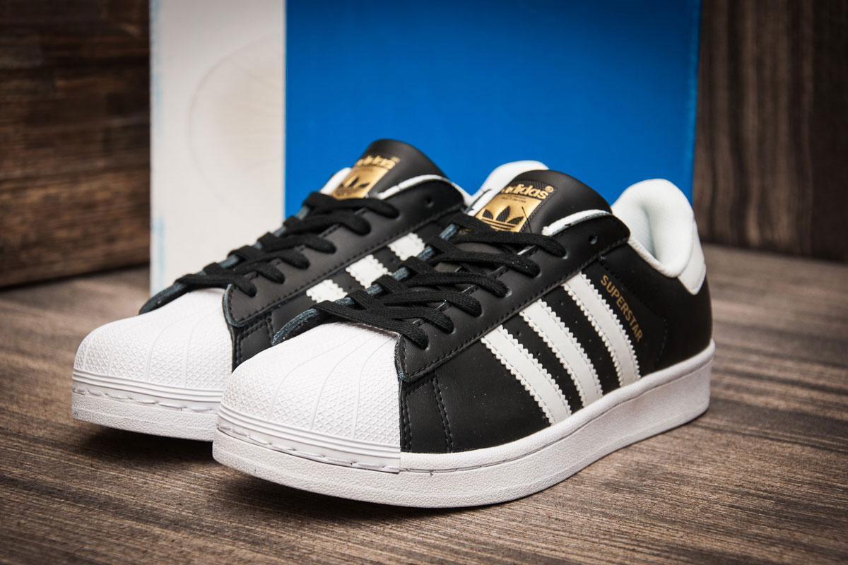 27ebbe1a Мужские кроссовки в стиле Adidas Superstar, черные , цена 1 105 грн ...