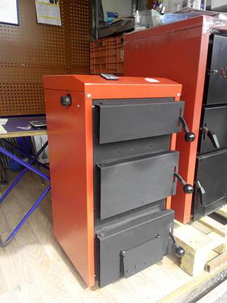 Котел твердотопливный Рубин ТТ-16 длительного горения, фото 2