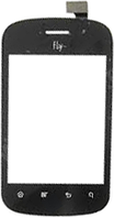 Тачскрин (сенсор) Fly IQ235 Uno/GN100, black (чёрный)