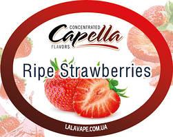 Ароматизатор Capella Ripe Strawberries (Спелая клубника)